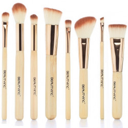 Beauty Inc. Vegan Line Sculpt & Blend 8pcs Bamboo Brush Set